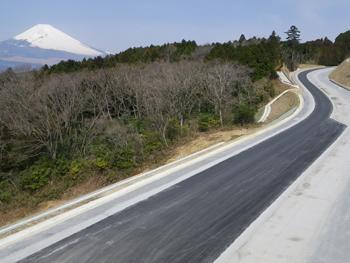 平成22年度笹原山中BP西道路建設工事